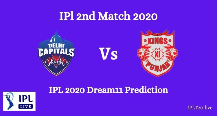 DC Vs KXIP Dream11 Team Prediction