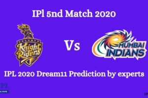 KKR Vs MI IPL Dream11