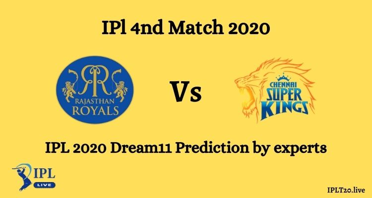 RR Vs CSK Dream 11 Team