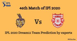 Players Selected For KKR VS KXIP Dream11 Team prediction