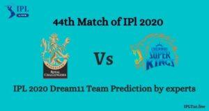 IPL 13: RCB vs CSK Dream11 Team Prediction By