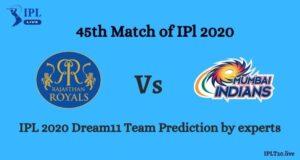 Best Picks For RR vs MI Dream11 Team Prediction