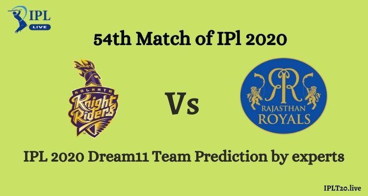 KKR vs RR Dream11 Team