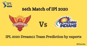 IPL 2020: SRH vs MI Dream11 Team Prediction By