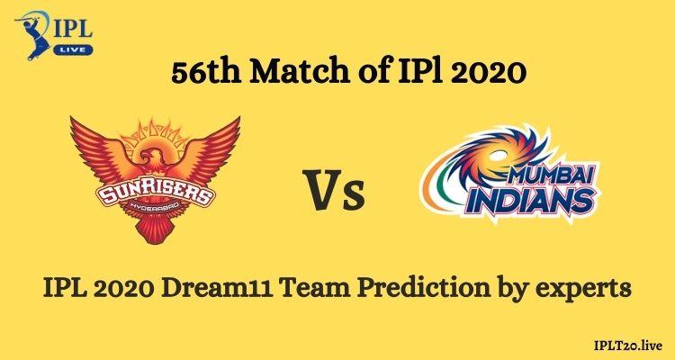 SRH vs MI Dream11 Team