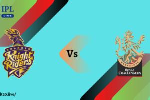 KKR Vs RCB Dream11 Match Prediction