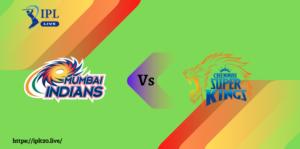 Match No: 27 | MI VS CSK Match Prediction