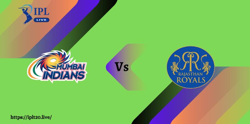 MI VS RR Dream11 Match Prediction