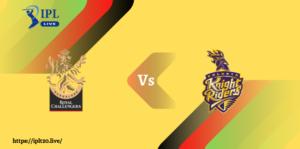 Live IPL Score 2021 | RCB Vs KKR Dream11