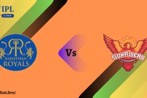 RR VS SRH Dream11 Match Prediction