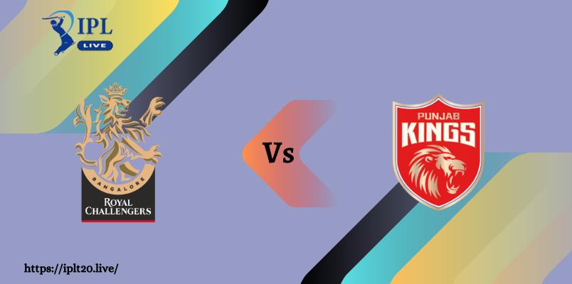 RCB VS PBKS Dream11 Match Prediction