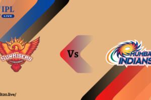 SRH Vs MI Match Prediction