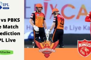 SRH vs PBKS Live Match & Prediction - IPL Live